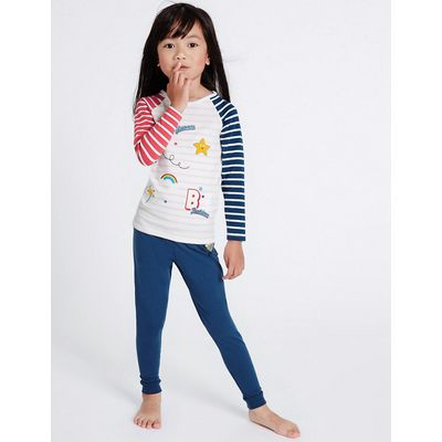 Cotton with Stretch Pyjamas (9 Mths-8 Yrs)