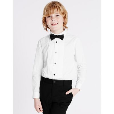 2 Piece Shirt with Bow Tie (3-14 Years)
