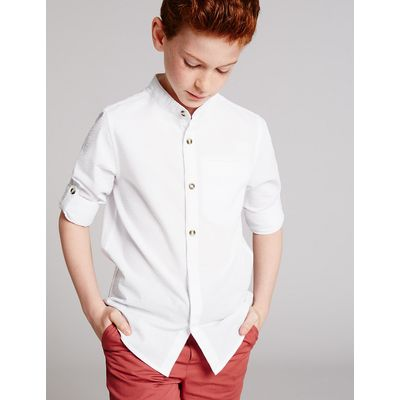 Autograph Cotton Blend Shirt (3-14 Years)