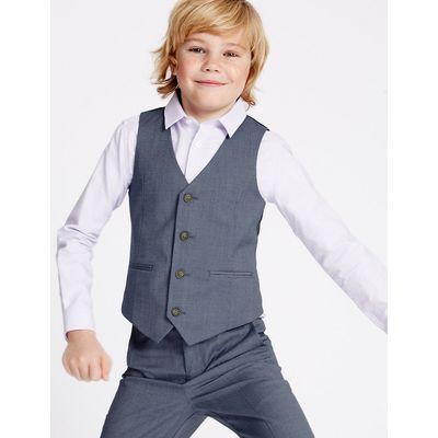 4 Button Waistcoat (3-14 Years)
