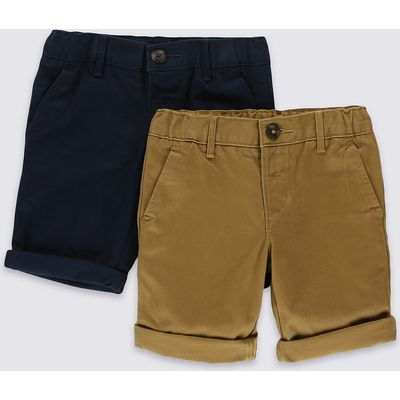 2 Pack Chino Shorts (3 Months - 5 Years)