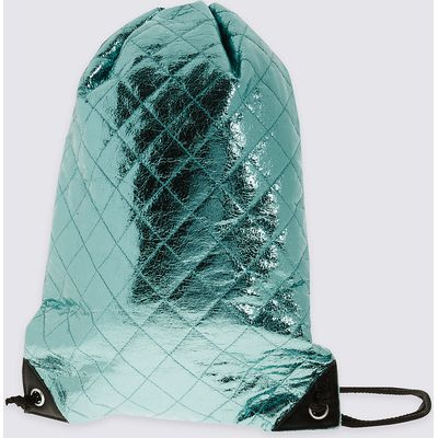 Kids' Quilted Drawstring Rucksack