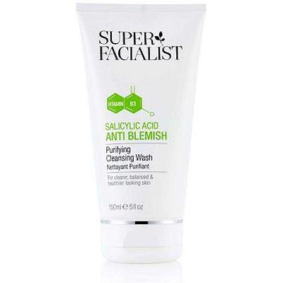 Super Facialist Salicylic Acid Purifying Cleansing Wash 150ml