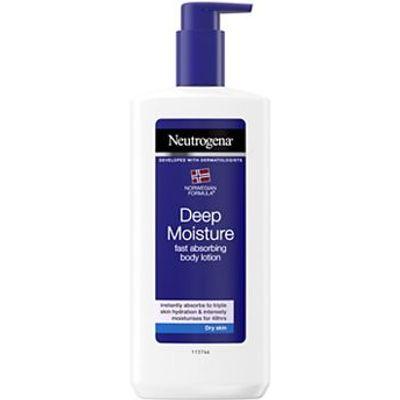 Neutrogena Norwegian Formula Deep Moisture Body Lotion For Dry Skin 400ml