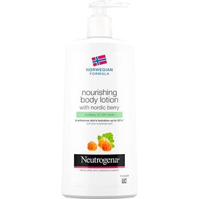 Neutrogena Norwegian Formula Nourishing Body Lotion with Nordic Berry 400ml
