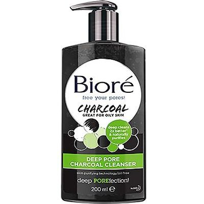 Bior Deep Pore Charcoal Cleanser 200ml