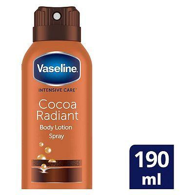 Vaseline Intensive Care Cocoa Spray Moisturiser 190ml