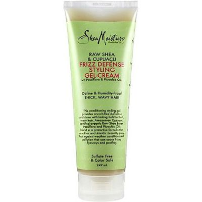 Shea Moisture Raw Shea & Cupuacu Frizz Defense Styling Gel-Cream