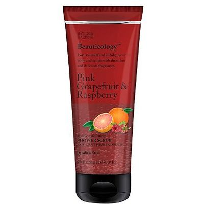 Baylis & Harding Beauticology Pink Grapefruit & Raspberry Shower Scrub 250ml
