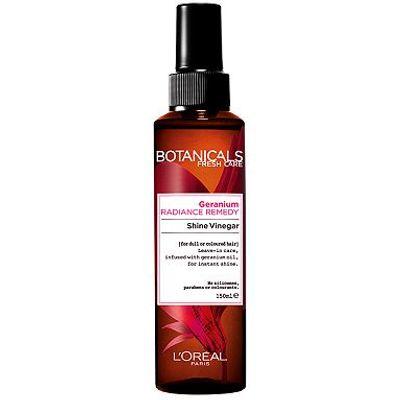 L'Oral Botanicals Geranium Radiance Remedy Shine Vinegar 150ml