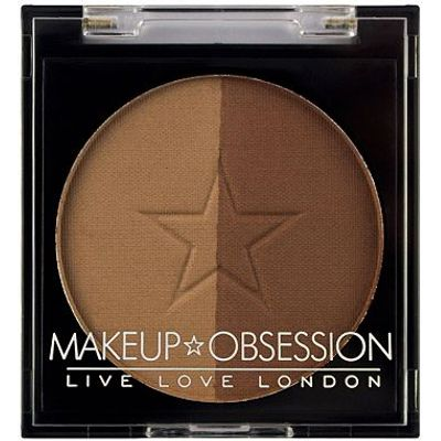 Makeup Obsession Brow Duo Powder BR104 Soft Brown