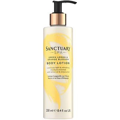 Sanctuary Spa Green Lemon and Orange Blossom body lotion 250ml