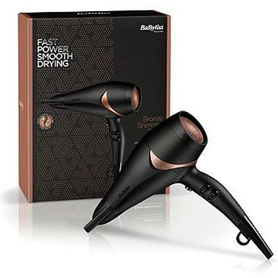 BaByliss Bronze Shimmer 2200 Hair Dryer
