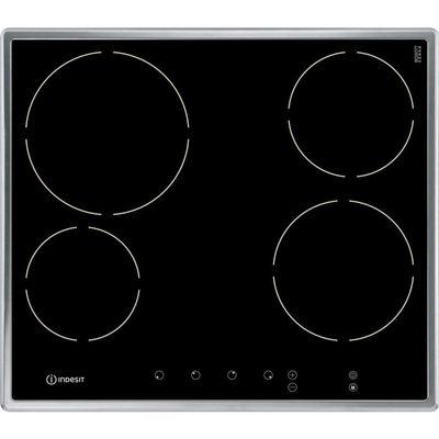 8007842838879 | Indesit VRB640X electric hobs  in Black   Stainless Steel