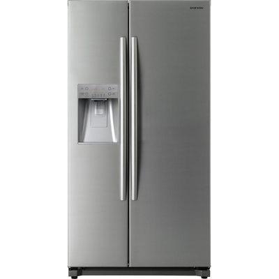 DAEWOO  DRQ29NPES American Style Fridge Freezer   Silver  Silver - 5031117414232