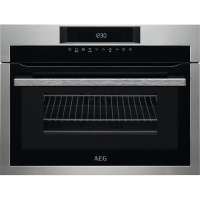 7332543524112 | AEG KME761000M Built in Combination Microwave   Stainless Steel  Stainless Steel Store