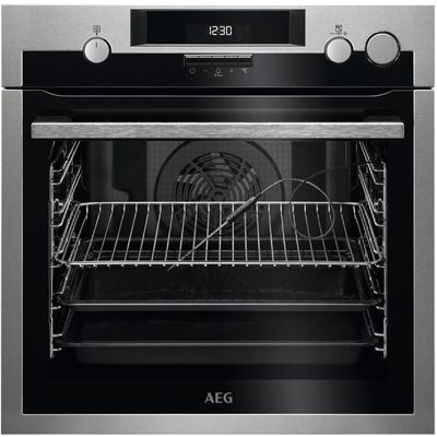 AEG BSE574221M Electric Steam Oven   Stainless Steel  Stainless Steel - 7332543537242