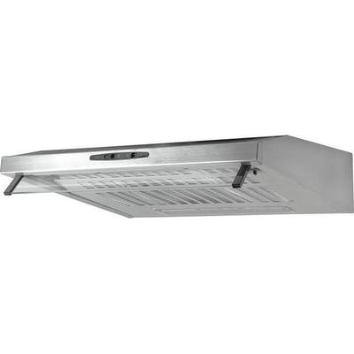 5017416540896 | ESSENTIALS  C60SHDX15 Visor Cooker Hood   Stainless Steel  Stainless Steel Store