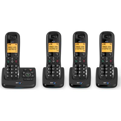 5016351618578 | BT  XD56 Cordless Phone with Answering Machine   Quad Handsets Store
