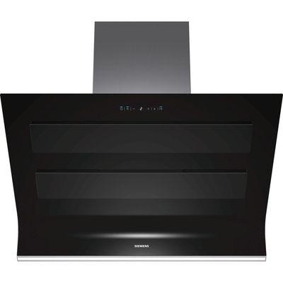 Siemens LC98KA570B Angled 90cm Chimney Cooker Hood Black - 4242003649046