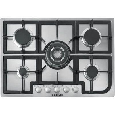 8016361815773 | Hoover HGH75SQCX gas hobs  in Stainless Steel Look