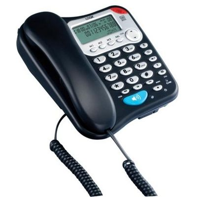 LOGIK  L04CTEL10 Corded Phone with Answering Machine - 5017416328777