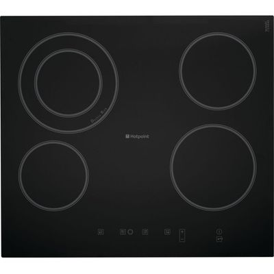 5016108555330: Hotpoint CRA641DC electric hobs  in Black