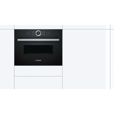4242002834993 | Bosch CMG633BB1B Black Electric Compact Oven with Microwave Store
