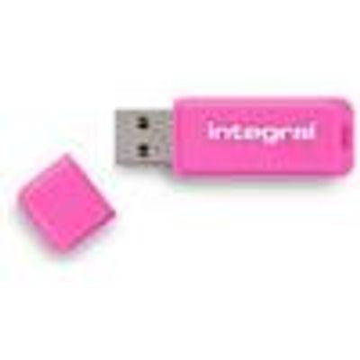 05055288409927 | Integral Neon Flash Drive USB 2 0 Pink 32GB   INFD32GBNEONPK Store