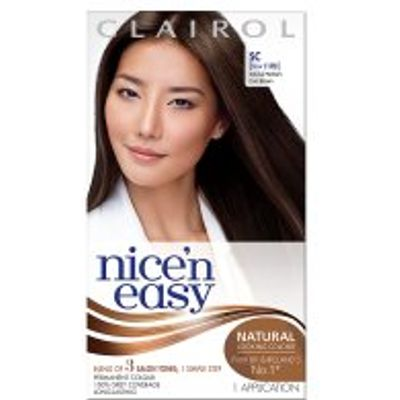 Nice n Easy Natural Medium Cool Brown 117D Hair Colour