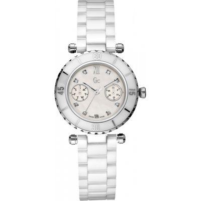 Ladies Gc Diver Chic Ceramic Diamond Watch