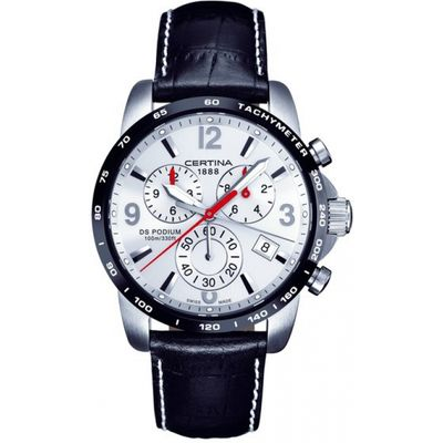 Mens Certina DS Podium Big Chrono Chronograph Watch