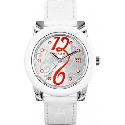 Ladies Holler Soozi White Watch