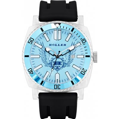 Mens Holler Chocolate City Blue Watch