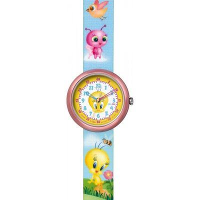 Childrens Flik Flak Tweety And Friends Handbag Watch