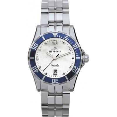 Ladies Michel Herbelin Newport Trophy Diamond Watch