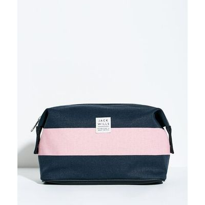 CRAWFORD WASHBAG PINK NAVY