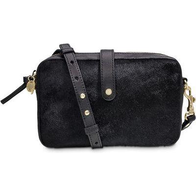 UGG Olive Crossbody Cow Hair Womens Bags Black