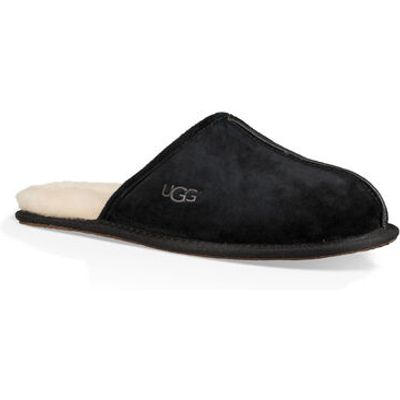UGG Scuff Mens Slippers Black 11