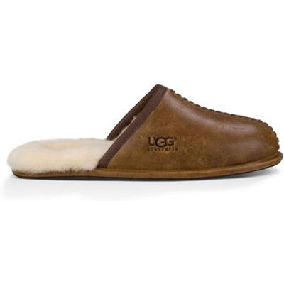 UGG Scuff Deco Mens Slippers Chestnut 11