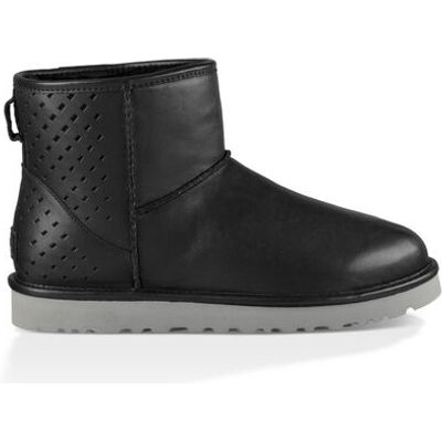 UGG Classic Mini Gradient Perf Mens Boots Black 10