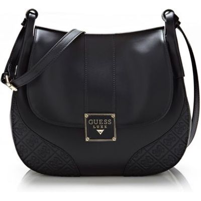 Guess Paige Leather Crossbody Bag