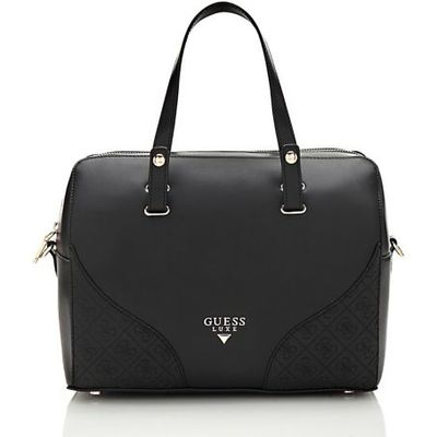 Guess Sky Leather Satchel Bag
