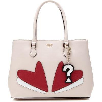 Guess Pin Up Pop Heart Shopper