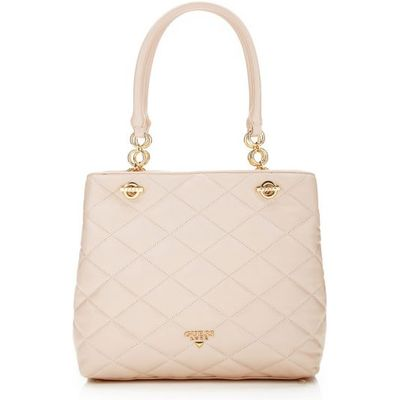 Guess Zoe Leather Shoulder Bag