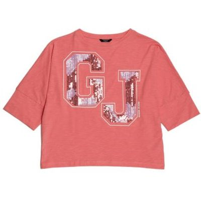Guess Kids T-Shirt With Sequin Print