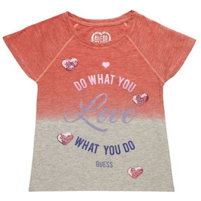 Guess Kids Nuanced T-Shirt With Print