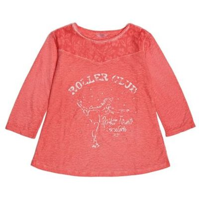 Guess Kids T-Shirt With Floral Pattern