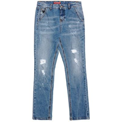 Guess Kids Skinny Jeans With Abrasions