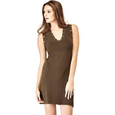 7613359302041 | Guess Viscose Blend Dress With Holes Store